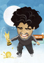 Cartoon: Diego Maradona (small) by Nicoleta Ionescu tagged diego,maradona