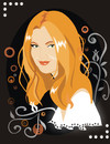 Cartoon: Drew Barrymore (small) by Nicoleta Ionescu tagged drew barrymore