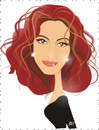 Cartoon: Julia Roberts (small) by Nicoleta Ionescu tagged julia,roberts