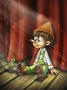 Cartoon: Pinocchio (small) by Nicoleta Ionescu tagged pinocchio,cartoon,character