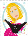 Cartoon: Renee Zellweger as Bridget Jones (small) by Nicoleta Ionescu tagged renee zellweger bridget joness diary best friend girl woman sex panties appeal love romance surprise pink heart