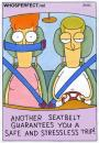 Cartoon: seatbelt (small) by WHOSPERFECT tagged seatbelt