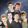 Cartoon: A-ha then and now (small) by matan_kohn tagged ha,magne,furuholmen,morten,harket,paul,waaktaarsavoy,matan,kohn,funny,iluustration,music,band