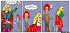 Cartoon: To be or not 2b (small) by matan_kohn tagged shakespeare,funny,comics,nowhereman,act,actor,matan,kohn