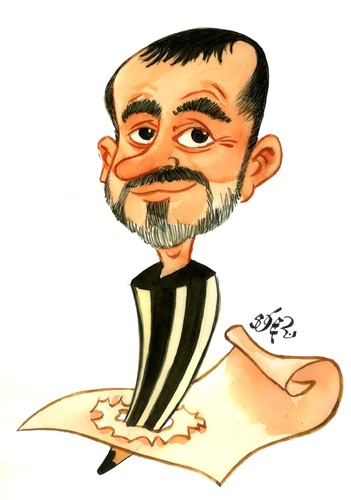 Cartoon: JAUME CAPDEVILA KAP (medium) by SOLER tagged kap,humorista,caricatura