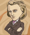 Cartoon: Johannes Brahms (small) by frostyhut tagged brahms,music,classical,composer,german