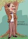 Cartoon: Richard Addinsell (small) by frostyhut tagged addinsell composer english british 20thcentury music classical