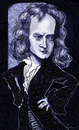 Cartoon: Sir Isaac Newton (small) by frostyhut tagged science genius physics newton sirisaacnewton gravity