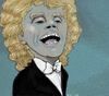 Cartoon: Sir Simon Rattle (small) by frostyhut tagged rattle,classical,conductor,music