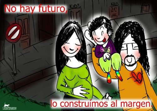 Cartoon: El ahora (medium) by LaRataGris tagged futuro