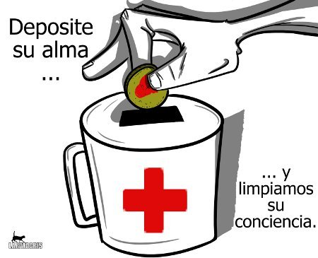 Cartoon: Lavado de conciencia (medium) by LaRataGris tagged ong