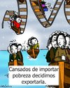 Cartoon: caidos (small) by LaRataGris tagged crisis