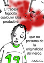 Cartoon: Canibalismo empresarial (small) by LaRataGris tagged trabajo