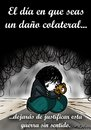 Cartoon: danyo colateral (small) by LaRataGris tagged guerra
