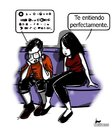 Cartoon: Incomunicados (small) by LaRataGris tagged incomunicacion