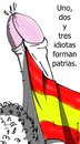 Cartoon: Patria por cojones (small) by LaRataGris tagged patria