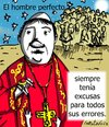 Cartoon: Perfecto (small) by LaRataGris tagged religion