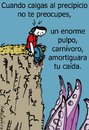 Cartoon: Sin problema (small) by LaRataGris tagged rescate