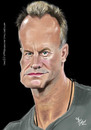 Cartoon: Sting (small) by Fivi tagged sting