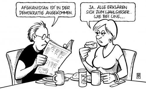 Afghanistan-Wahlnachlese