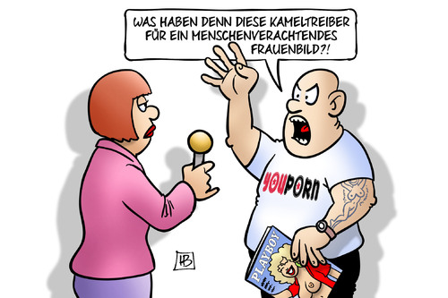 Cartoon: Frauenbild (medium) by Harm Bengen tagged kameltreiber,rassismus,menschenverachtend,frauenbild,feminismus,sexismus,porno,youporn,playboy,interview,silvestervorfaelle,handy,klauen,frauen,uebergriffe,sexuelle,belaestigung,diebstahl,raub,koeln,harm,bengen,cartoon,karikatur,kameltreiber,rassismus,menschenverachtend,frauenbild,feminismus,sexismus,porno,youporn,playboy,interview,silvestervorfaelle,handy,klauen,frauen,uebergriffe,sexuelle,belaestigung,diebstahl,raub,koeln,harm,bengen,cartoon,karikatur