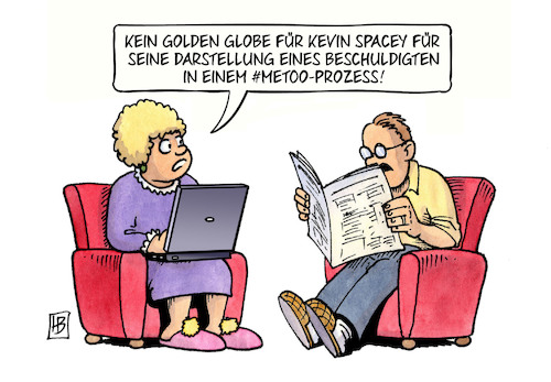 Cartoon: Golden Globe (medium) by Harm Bengen tagged golden,globe,kevin,spacey,darstellung,beschuldigter,metoo,prozess,schauspieler,harm,bengen,cartoon,karikatur,golden,globe,kevin,spacey,darstellung,beschuldigter,metoo,prozess,schauspieler,harm,bengen,cartoon,karikatur