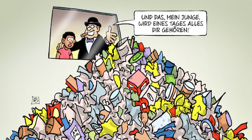 Cartoon: Müll-Konferenz Genf (medium) by Harm Bengen tagged müll,export,konferenz,genf,harm,bengen,cartoon,karikatur,müll,export,konferenz,genf,harm,bengen,cartoon,karikatur