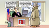Cartoon: Clinton-Emails und FBI (small) by Harm Bengen tagged fbi,trump,sexuelle,belästigung,clinton,email,privater,server,usa,präsidentschaftswahl,harm,bengen,cartoon,karikatur