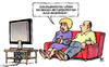 Cartoon: Experten2 (small) by Harm Bengen tagged experten,schweigeminute,absturzexperten,germanwings,flugzeugabsturz,fliegen,tv,harm,bengen,cartoon,karikatur