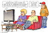 Cartoon: Generation-What-Studie (small) by Harm Bengen tagged generation,what,studie,jugendliche,misstrauen,politik,institutionen,glauben,tv,eltern,harm,bengen,cartoon,karikatur