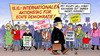 Cartoon: Occupy Wall Street (small) by Harm Bengen tagged occupy,wall,street,wallstreet,wirtschaft,banken,protest,demonstration,bankenrettung,bankenmacht,aktionstag