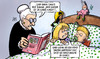 Cartoon: Sexualstrafrecht (small) by Harm Bengen tagged gefaengnis,knast,kinder,paedophile,internet,oma,maerchen,bett,vorlesen,buch,harm,bengen,cartoon,karikatur