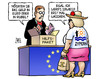 Cartoon: Zypern-Paket (small) by Harm Bengen tagged zypern,paket,hilfspaket,bankenrettung,eu,euro,krise,rubel,russen,schwarzgeld,geldwaesche,harm,bengen,cartoon,karikatur