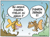 Cartoon: Eating out (small) by cizofreni tagged eating,out,fish,sea,dinner,balik,yemek