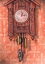 Cartoon: Time (small) by vladan tagged time clock