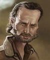 Cartoon: Rick Grimes (small) by jonesmac2006 tagged rick,grimes,the,walking,dead,caricature