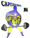 Cartoon: Capitan Verona... a colori! (small) by csamcram tagged csam cram capitan verona super heroe supereroe supereroi superheroe superheroes superhelden superheld