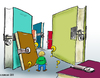Cartoon: analphabetismus (small) by pianoman68 tagged analphabestismus analphabeten analphabet
