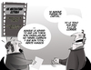 Cartoon: cine (small) by cambrico intrinseco tagged cartoon,comic