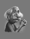 Cartoon: Albert Einstein (small) by rocksaw tagged albert,einstein