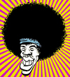 Cartoon: Jimi_Hendrix (small) by cosmicomix tagged caricature,caricatura,jimi,hendrix,sex,drugs,and,rock,roll