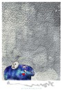 Cartoon: COMO LLUEVE HOY (small) by allan mcdonald tagged amor