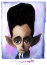 Cartoon: FRANZ KAFKA (small) by allan mcdonald tagged literatura