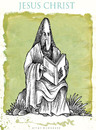 Cartoon: JESUS (small) by allan mcdonald tagged religion,politica