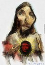 Cartoon: jesus rebelde (small) by allan mcdonald tagged arte