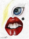 Cartoon: Marilyn Monroe (small) by allan mcdonald tagged cine