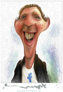 Cartoon: Mark Zuckerberg and Facebook (small) by allan mcdonald tagged facebook