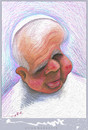 Cartoon: PAPA (small) by allan mcdonald tagged religion