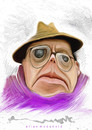 Cartoon: truman capote (small) by allan mcdonald tagged literatura