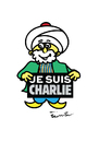 Cartoon: Nasreddin Hodja (small) by ismail dogan tagged je,suis,charlie